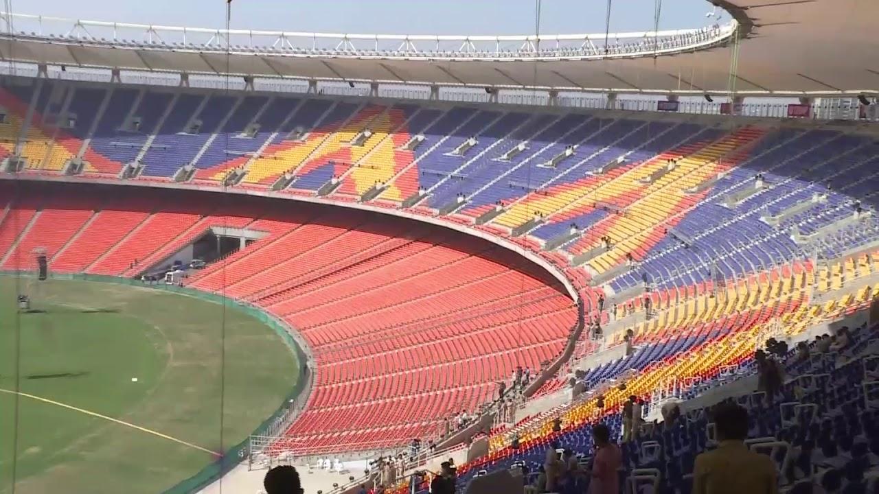 जगातील सर्वात मोठ्या मैदानावर रंगणार भारत-इंग्लंड डे-नाईट टेस्ट मॅच