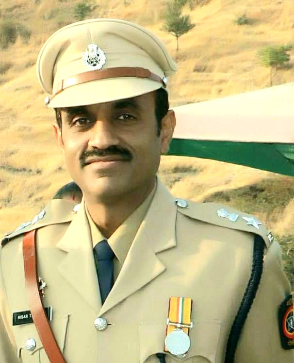 लातूरचे सुपुत्र मुंबई क्राईम ब्रँचचे आयपीएस अधिकारी निसार तांबोळी यांना राष्ट्रपती पुरस्कार जाहीर!
