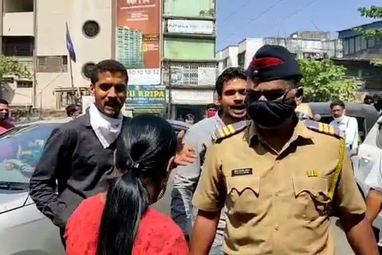 ऑन ड्युटी पोलिसाला भर रस्त्यात शिवीगाळ करणाऱ्या दोघा भावांना न्यायालयीन कोठडीची हवा
